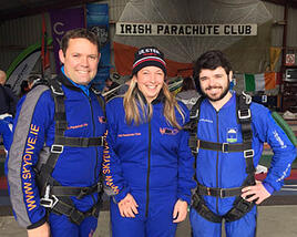BCF Team Ireland jump from plane for charity.png